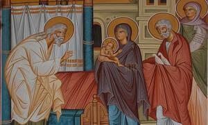 3 Φεβρουαρίου: Του Αγίου Συμεών του Θεοδόχου και της Προφήτιδος Άννας