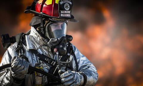 Ηλεία: Μεγάλη πυρκαγιά στη λίμνη Καϊάφα (pics)