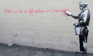 Γνωρίζεις τα 10 καλύτερα έργα του Banksy;