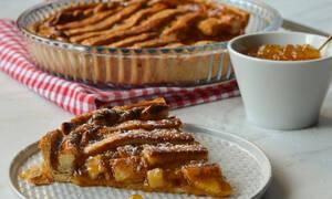 Η συνταγή της ημέρας: Πάστα φλώρα με μαρμελάδα ροδάκινο