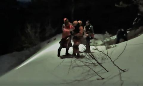 Δείτε συγκλονιστικό βίντεο: Καρέ-καρέ η στιγμή της διάσωσης των 21 προσκόπων στο Τρόοδος