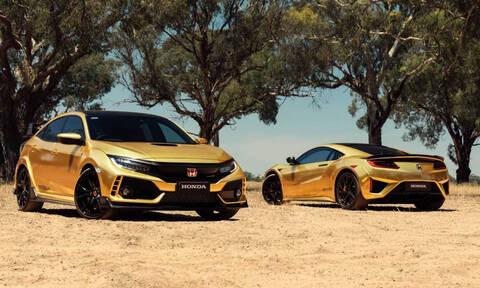 Η Ηonda Αυστραλίας έβαψε όλα τα προϊόντα της χρυσά και έχει λόγο
