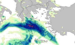 Καιρός: Θα «πνιγεί» η Ελλάδα τις επόμενες ώρες - Αεροχείμαρροι πάνω από τη χώρα (vid)