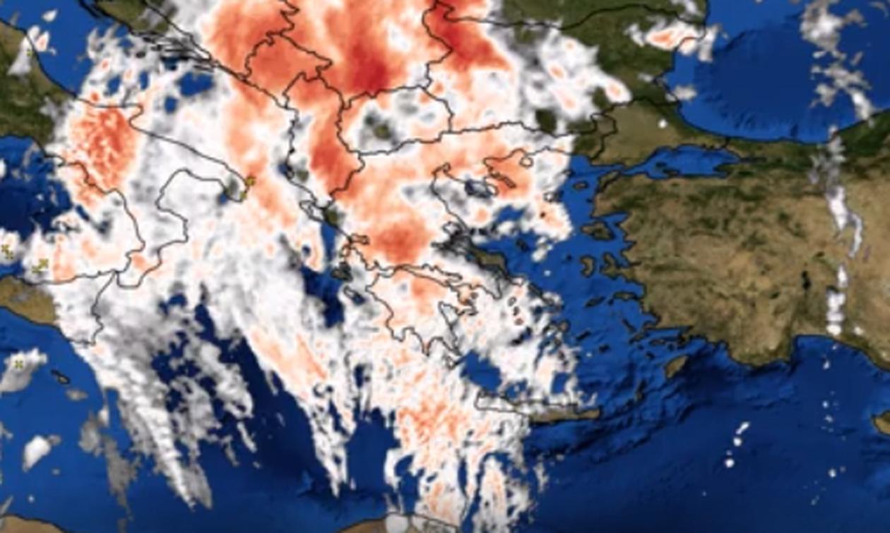 Καιρός ΤΩΡΑ: «Κυκλώνει» την Ελλάδα το βαρομετρικό – Δείτε τις περιοχές που θα χτυπήσει (Χάρτες)