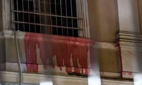 Анархисты напали на здание посольства Италии в Афинах