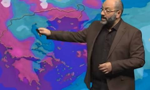 Προσοχή! Εκτακτη προειδοποίηση του Σάκη Αρναούτογλου για τις σφοδρές καταιγίδες (photos)