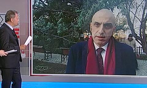 «Κλάμα» στον ΣΚΑΪ: Δείτε τι έπαθε ο δημοσιογράφος σε ζωντανή σύνδεση (pics)