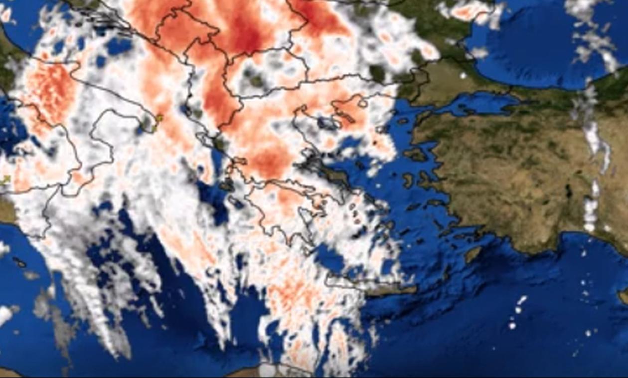 Έκτακτο δελτίο ΕΜΥ: «Κυκλώνει» την Ελλάδα η κακοκαιρία - Σαρωτικές καταιγίδες «πνίγουν» τη χώρα
