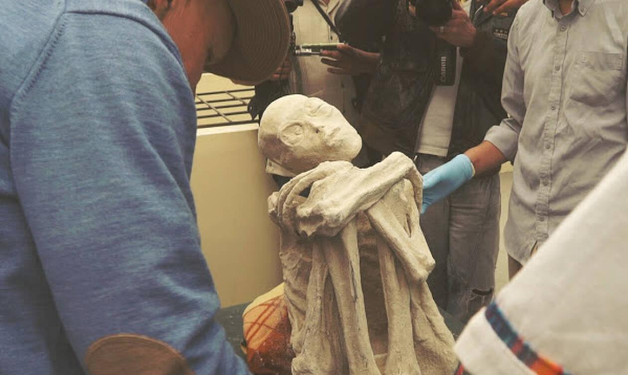 Αποκάλυψη! Οι εξωγήινοι που βρέθηκαν στον τάφο της Νάζκα ήταν ζωντανοί - Δείτε φωτογραφίες