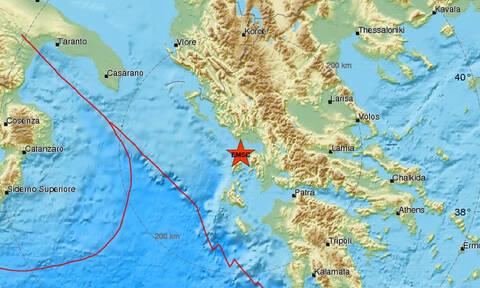 Σεισμός ΤΩΡΑ κοντά σε Πρέβεζα και Λευκάδα (pics)
