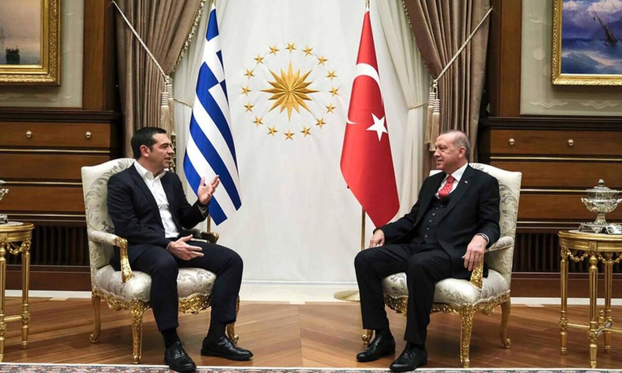 Ципрас и Эрдоган обсудили кипрское урегулирование и ситуацию в Эгейском море