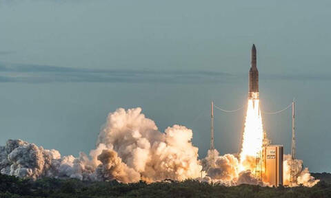 Greek satellite Hellas Sat 4 successfully launched from French Guiana