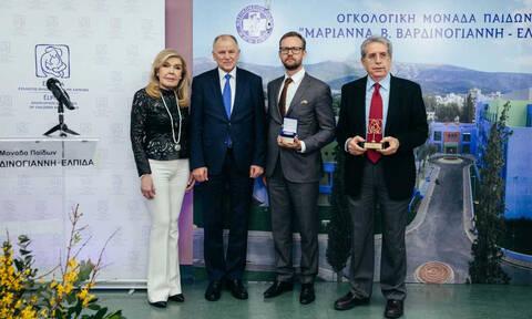 Ο Ευρωπαίος Επίτροπος Υγείας επισκέφθηκε την Ογκολογική Μονάδα Παίδων «ΕΛΠΙΔΑ»