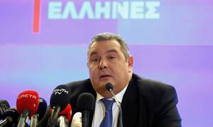 Καμμένος: Με 180 βουλευτές η κύρωση της ένταξης των Σκοπίων στο ΝΑΤΟ