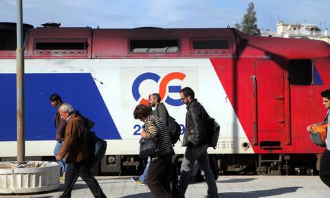 Φθιώτιδα: Ταλαιπωρία για δεκάδες επιβάτες – Έκλεψαν καλώδια και «μπλόκαραν» τρένα