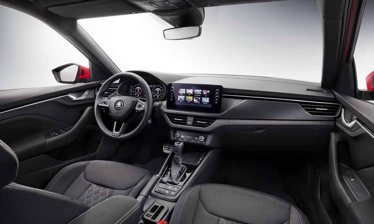Νέο Skoda Kamiq: αυτό είναι το εσωτερικό του νέου μικρού SUV