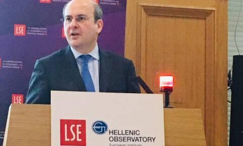 Χατζηδάκης στο LSE: Υπάρχει ελπίδα για την Ελλάδα