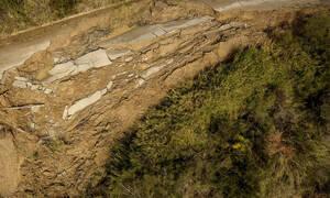 Κακοκαιρία: Κατολισθήσεις απειλούν τον αρχαιολογικό χώρο της Ολυμπίας (pics)