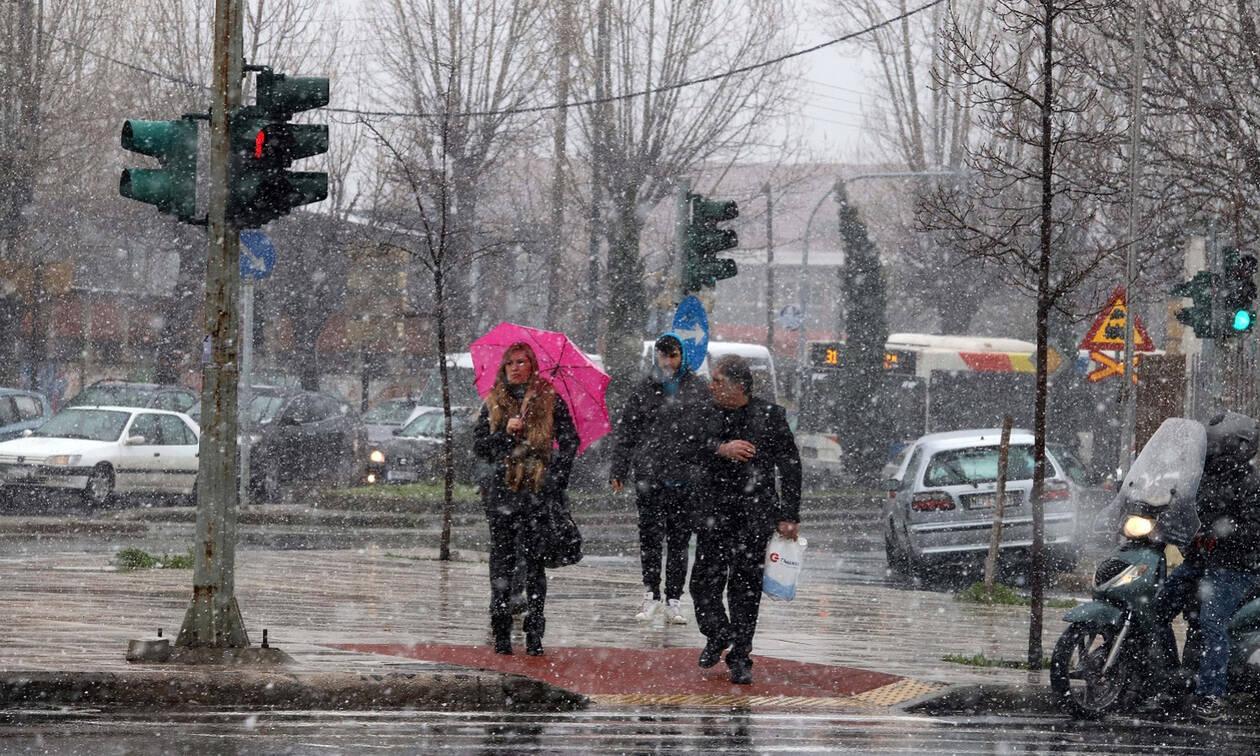 Καιρός: Τσουχτερό κρύο με βροχές και χιόνια την Παρασκευή - Ποιες περιοχές θα επηρεαστούν