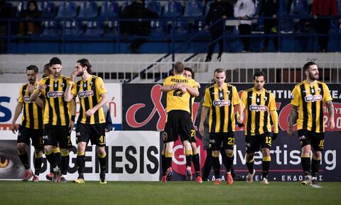 Ατρόμητος-ΑΕΚ 0-1: Πέρασε από το Περιστέρι με «φωνές»