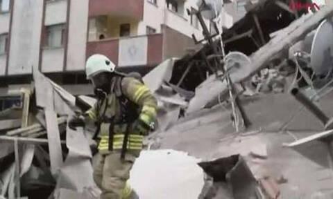 Κωνσταντινούπολη: Στους 11 οι νεκροί από την κατάρρευση του 8όροφου κτιρίου