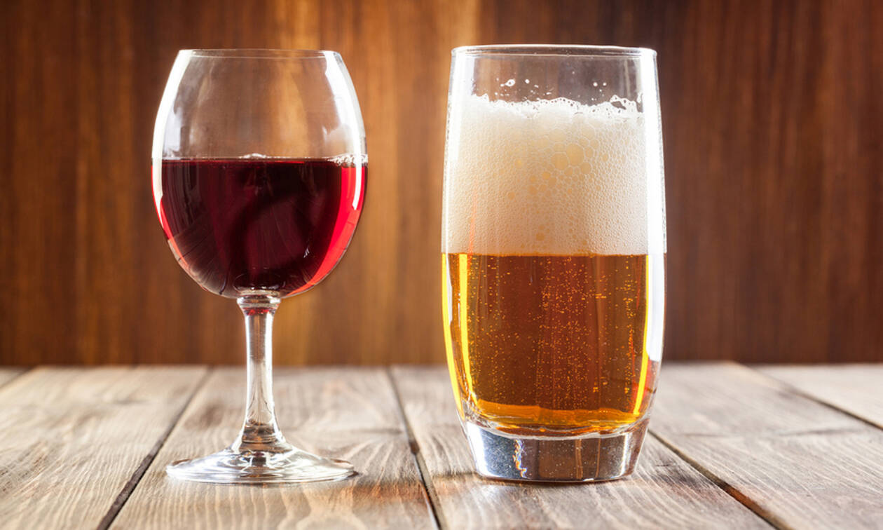 Πρώτα μπύρα και μετά κρασί για να αποφύγετε τη μέθη: Τι ισχύει;