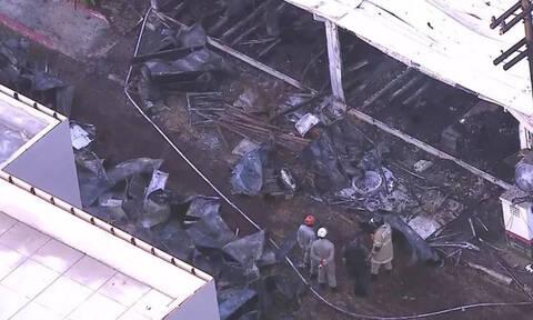 Τραγωδία: Τουλάχιστον 10 νεκροί μετά από πυρκαγιά στο προπονητικό κέντρο της Φλαμένγκο (pics)