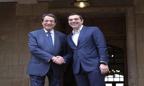 Президент Кипра Н. Анастасиадис провел телефонные переговоры с премьер-министром Греции А.Ципрасом