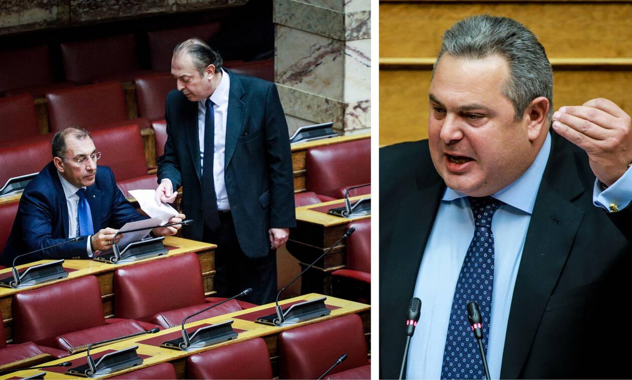 «Σβήνει το καντήλι» των ΑΝΕΛ: «Όχι» Λαζαρίδη και Δ. Καμμένου σε επιστροφή στο κόμμα