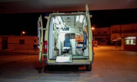 Νέο σοβαρό τροχαίο στο Ηράκλειο: Διασωληνωμένος στο νοσοκομείο ένας 25χρονος