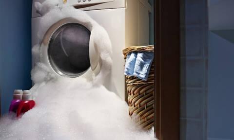 «Χορεύει» το πλυντήριό σας; Δείτε πώς θα το διορθώσετε!
