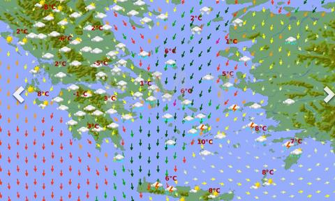 Καιρός: Ερχεται ψυχρή εισβολή διαρκείας! Χιόνια και στα πεδινά δίνει η ΕΜΥ. Δείτε τους χάρτες...