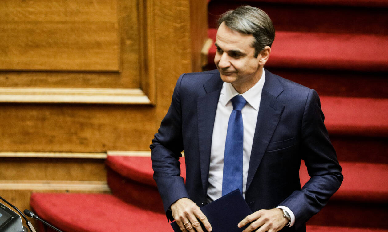 ND leader Mitsotakis tours Macedonia