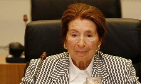 Botanical painter and philanthropist Niki Goulandris dies