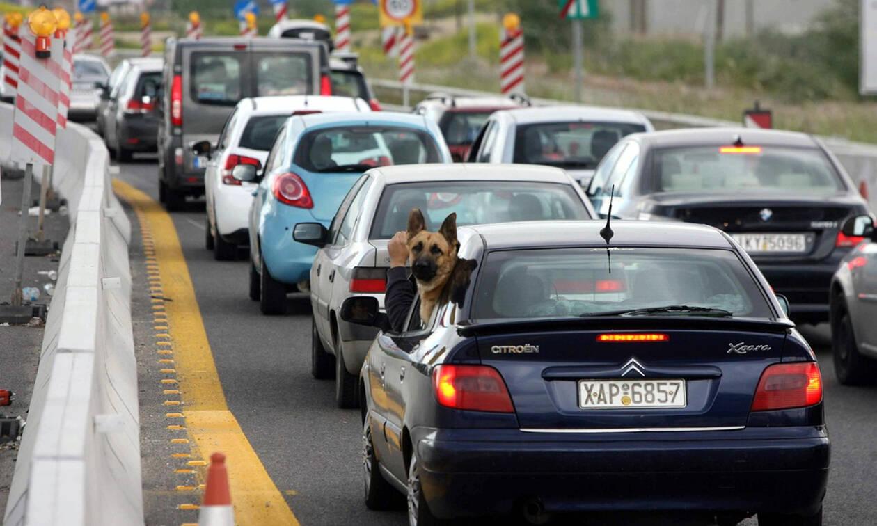 Προσοχή! Κυκλοφοριακές ρυθμίσεις διαρκείας στην Εθνική Οδό Αθηνών Λαμίας