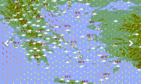 Καιρός: Χιονιάς διαρκείας από την Τρίτη μέχρι την Παρασκευή. Θα χιονίσει και στην Αθήνα... (photos)