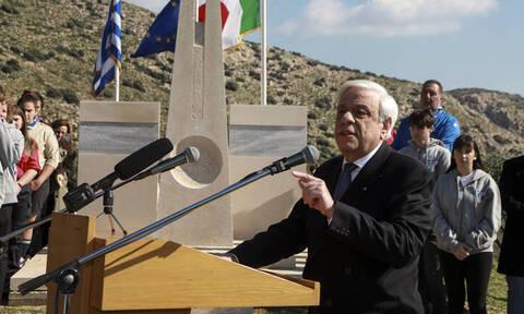 Παυλόπουλος: Ιστορικό μας χρέος να σταθούμε απέναντι στον λαϊκισμό