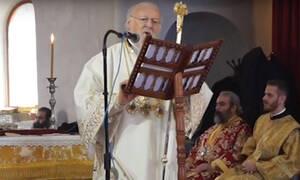 Μήνυμα υπέρ της ελληνοτουρκικής φιλίας από τον Πατριάρχη Βαρθολομαίο (vid)