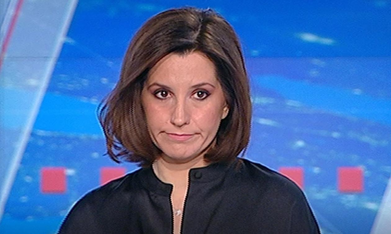 «Λύγισε» η παρουσιάστρια του ΣΚΑΙ: Τα δάκρυα κατά τη διάρκεια του δελτίου ειδήσεων (pics)