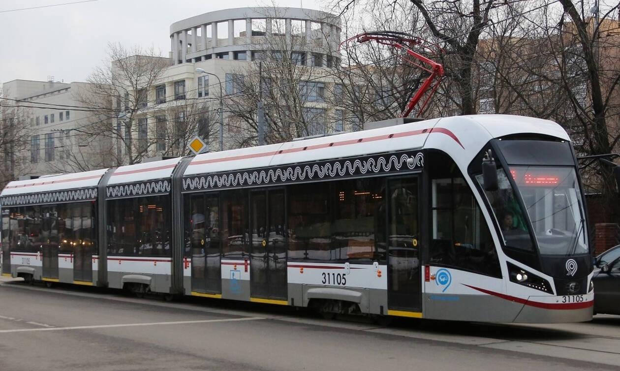 В Москве запустят первый в России беспилотный трамвай