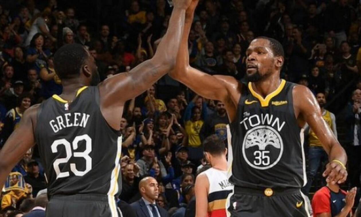NBA: Ευτυχώς υπήρχε ο Ντουράντ (video+photos)