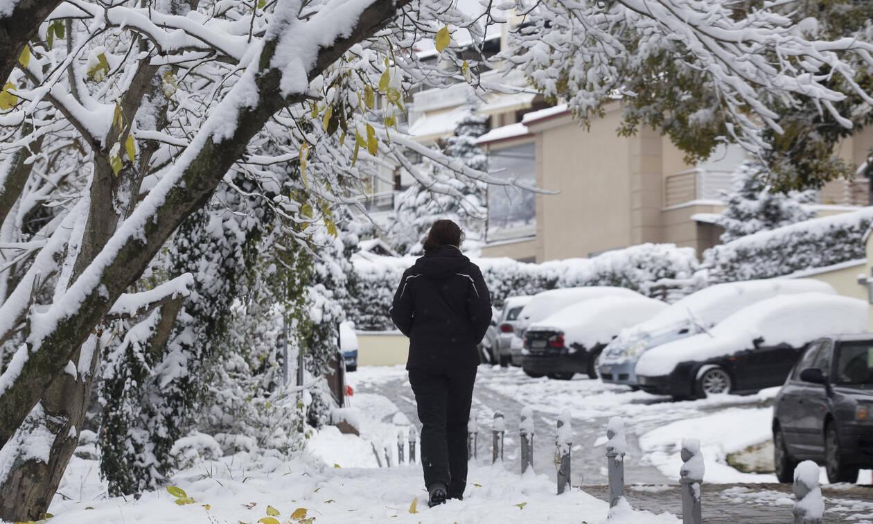 Έκτακτο δελτίο επιδείνωσης του καιρού: Έρχονται χιόνια, πολικό ψύχος και θυελλώδεις άνεμοι