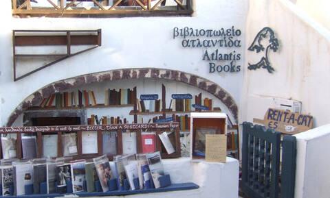 Στη Σαντορίνη το καλύτερο βιβλιοπωλείο στον κόσμο (photos)