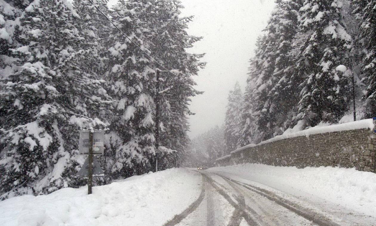 Καιρός: Η «Χιόνη» πλησιάζει απειλητικά με ραγδαία πτώση της θερμοκρασίας και πολλά χιόνια (pics)