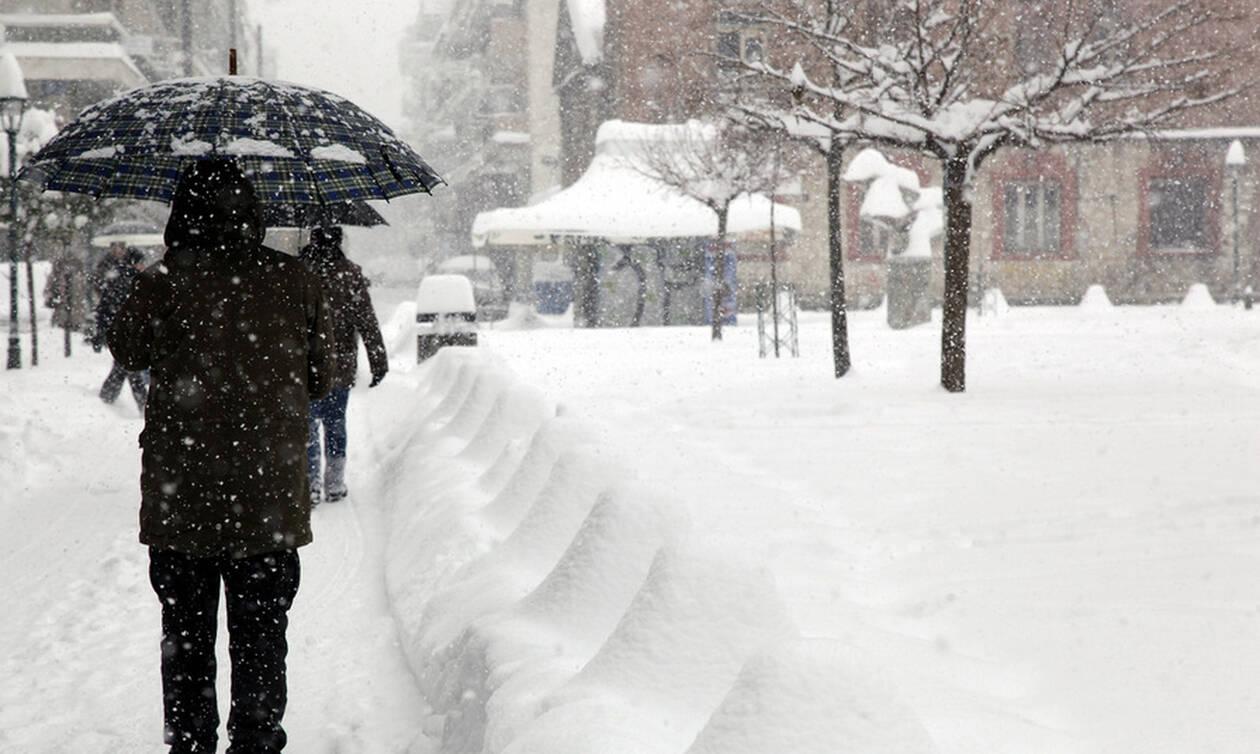 Καιρός: Έτσι θα σκεπάσει η «Χιόνη» τη χώρα - Πού και πότε θα χιονίσει (vid)