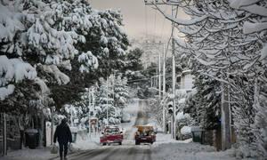 Καιρός: Η «Χιόνη» σκεπάζει την Ελλάδα με χιόνι και παγωνιά – Κίνδυνος σε Εύβοια, Αττική και Αιγαίο