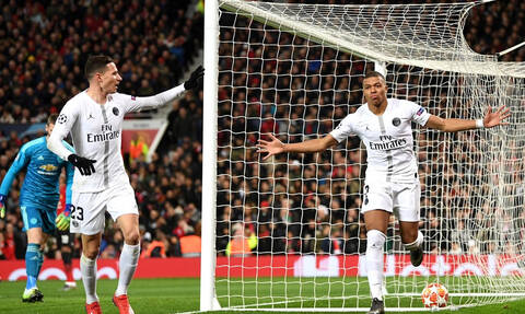 Champions League: «Πάρτι» της Παρί στο Μάντσεστερ