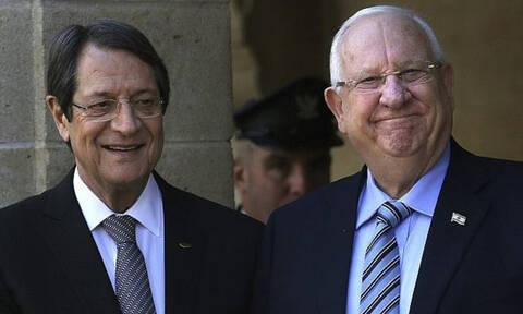 Президент Израиля Реувен Ривлин провел официальный визит на Кипр