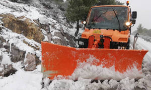 Καιρός - «Χιόνη»: Χιονίζει τώρα στην Πάρνηθα - Διακοπή κυκλοφορίας (pics&vids)