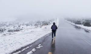 Καιρός LIVE: Δείτε πού χιονίζει τώρα